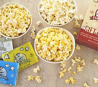 Farmer Jon's (3) 6-Pack Microwave Popcorn GiftBoxes
