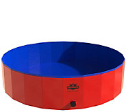 PETMAKER Foldable Pet Pool and Bathing Tub withCarrying Bag - M117508
