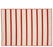 Tommy Bahama 5x7 Reversible Indoor/Outdoor Awning Stripe Rug - M55709