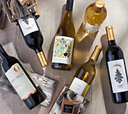 Martha Stewart Wine Co. Holiday Wine 12 Bottle Set and Gift Bags - M61609