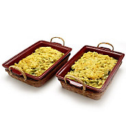 St. Clair 2/2 lb. Broccoli Rice Casserole Trays - M106710