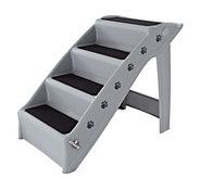 Petmaker 4-Step Folding Plastic Pet Stairs - M116010