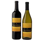 Vintage Wine Estates 2 Bottle Congratulations Set - M117310
