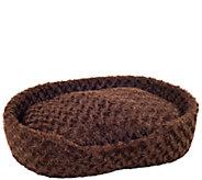 PETMAKER Cuddle Round Plush Large Pet Bed - M114811
