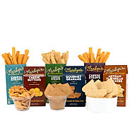 Marilyns Gourmet 6 Gluten-Free Cracker & Straw Assortment - M116512