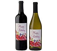Vintage Wine Estates 2 Bottle Happy Birthday Set - M117312