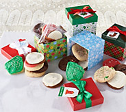 SH12/3 Cheryls 32-pc Cookie Assortment w/ 8 Holiday Gift Boxes - M59312