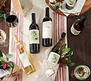 SH 11/30 Martha Stewart Wine Co. (12) Bottles of Wine w/ Gift Bags - M69912