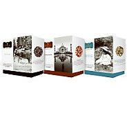 Wissotzky Tea Avas Journey 3 Gift Boxes w/54 Silken Bags - M114013