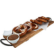 Prop and Peller (18) 2.7 oz Bavarian Pretzels with Mustard & Salt - M56113