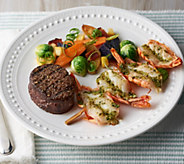 Rastelli Market Fresh (8) 5-oz Filet Mignon & (8) 4 Piece Shrimp Skewers - M58013
