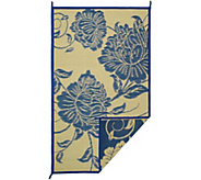 Barbara King Floral Dance 5x8 Reversible Outdoor Mat - M51715