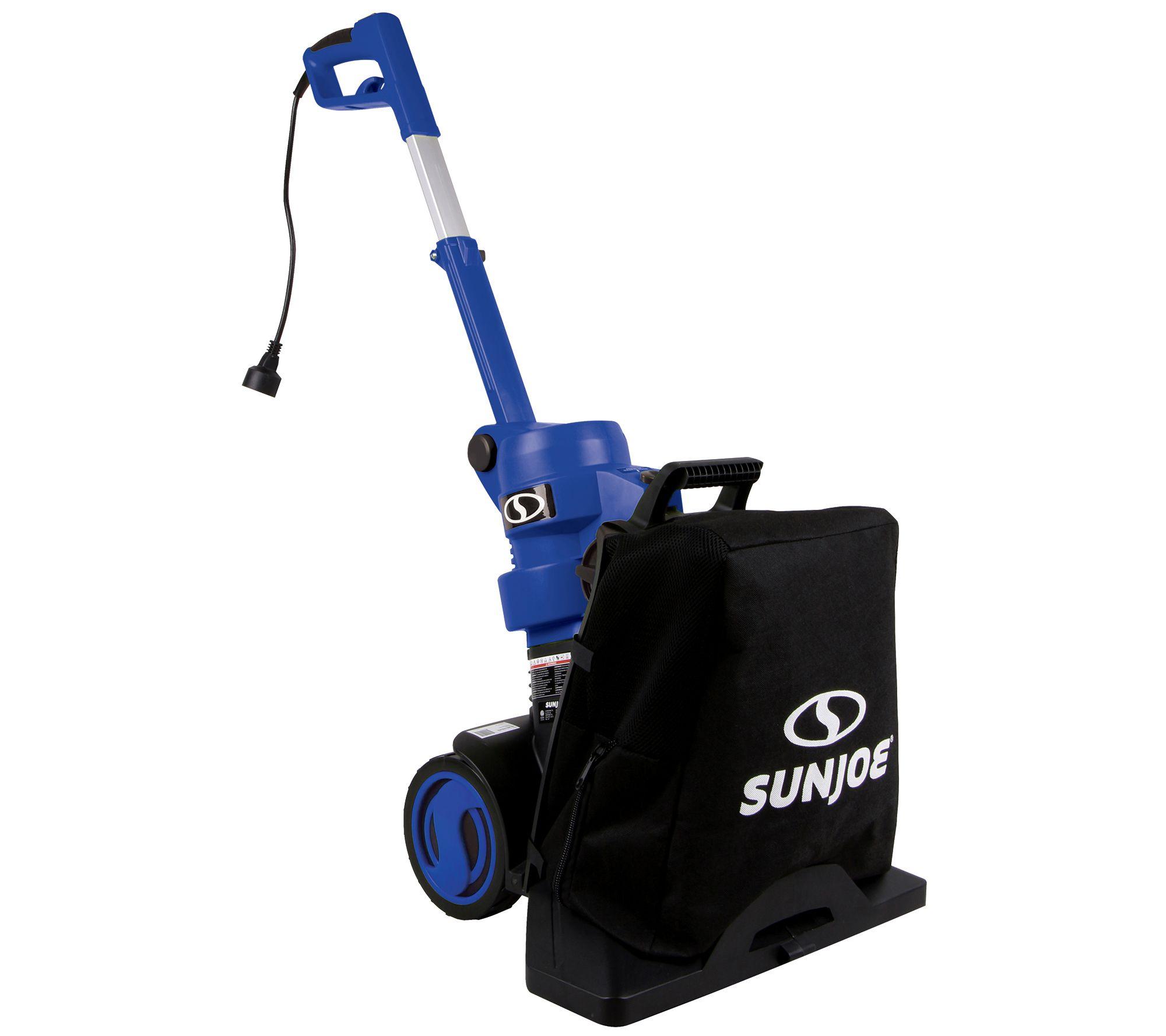 Sun Joe Indoor Outdoor Push Er Vacuum And Mulcher W Bag Qvc