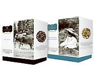 Wissotzky Tea Caroles Journey 2 Gift Boxes w/36 Silken Bags - M114017