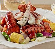 Greenhead Lobster (12) 4-5-oz Lobster Tails w/ 1-lb Butter - M62217