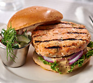 Egg Harbor (12) 4 oz. Sundried Tomato Salmon Burgers Auto-Delivery - M59218