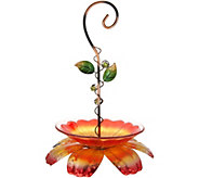 Hanging Flower Bird Feeder by Evergreen - M55819