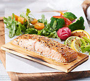 SH 12/3 Egg Harbor (9) 6-oz Faroe Island Cedar Plank Salmon Filets - M59820