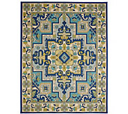 Veranda Living 7 x 10 Indoor/Outdoor Traditional Rug - M55721