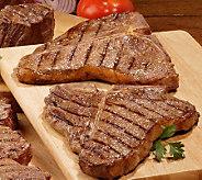Kansas City Steak Co. (4) 18oz PorterhouseSteaks - M34823