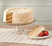Davids Cookies 5.6-lb Coconut Cloud Layer cake - M59323
