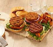 Real for Real Cuisine by Shannon Beador (18) 4-oz Veggie Burgers - M60023
