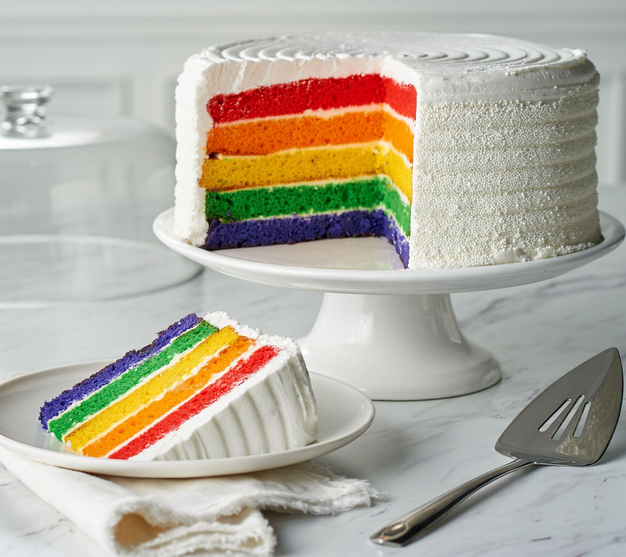 Davids Cookies 7 Lb Rainbow Layer Cake