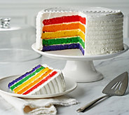 Davids Cookies 7-lb Rainbow Layer Cake - M57324