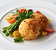 The Great Gourmet (12) 4-oz Traditional Crab Cakes - M57824