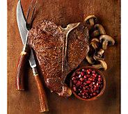 Kansas City Steak Co. (4) 22oz PorterhouseSteaks - M34825
