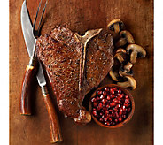 Kansas City Steak (6) 22oz Porterhouse Steaks - M34826