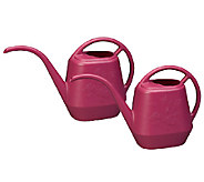 Bloem Set of 2 44-oz. Aqua Rite Watering Cans - M114527