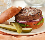 Kansas City Steak Company (10) 6-oz Brisket Burgers - M59927