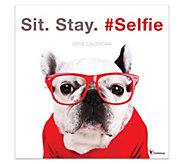 2019 Sit. Stay. #Selfie. Wall Calendar - M120728