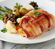 SH 4/8 Family Farms (6) 14-oz Bacon Wrapped Stuffed Chicken Auto-Delivery - M62929