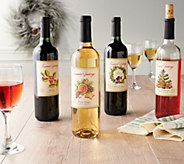 Ships 12/3 Vintage Wine Estates Holiday 12 Bottle Set Auto-Delivery - M59930