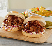 Corkys BBQ (6) 1-lb Competition Style BBQ Pulled Pork - M58831