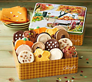 Cheryls 16-Piece Fall Frosted Cookie Gift Tin - M117432