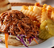 Corkys BBQ (4) 1-lb Competition Pulled Pork Slider Kit - M60333