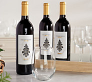 Martha Stewart Wine Co. 3 Bottle Summer Wine Auto-Delivery - M59234