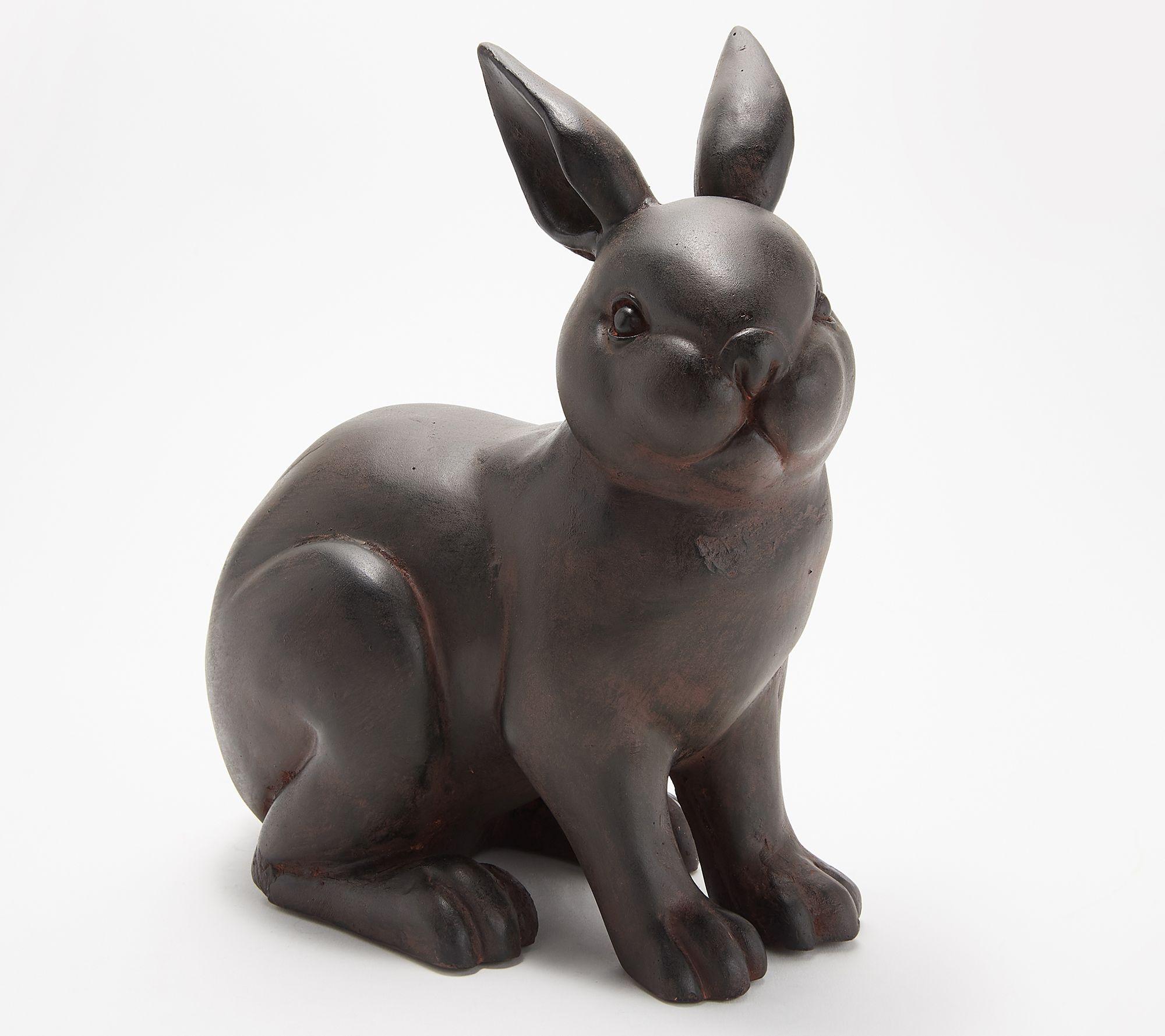 Martha Stewart Small Bunny Garden Sculpture Qvc Com