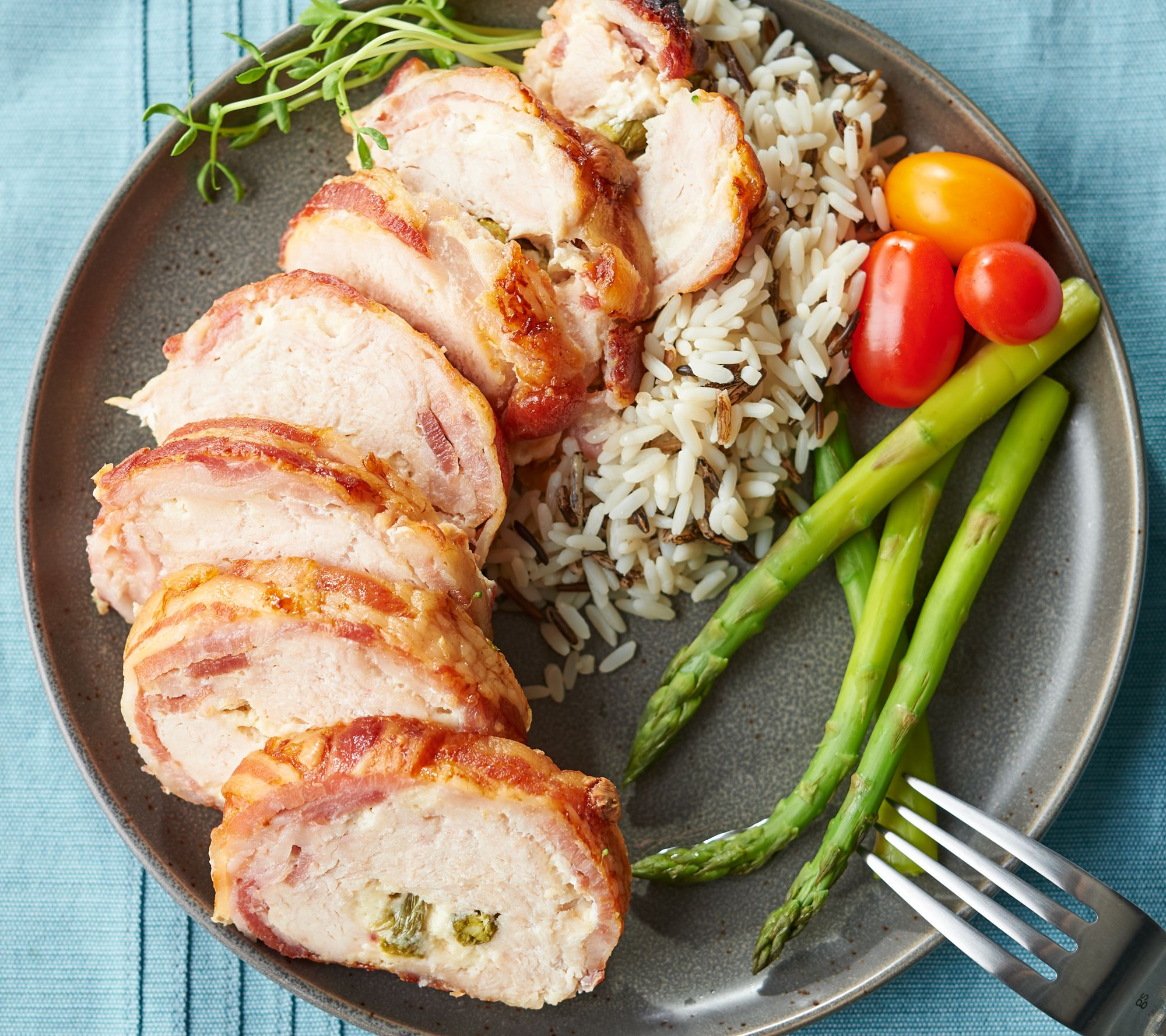 Family Farms (6) 14-oz Bacon Wrapped Veggie &Cheese Chicken Auto-Delivery —  QVC.com
