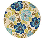 Tommy Bahama 94 Round All- Over Floral In/Outdoor Rug - M55836
