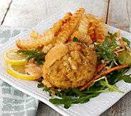 Great Gourmet (7) 6-oz East Meets West Jumbo Crab Cakes - M59836
