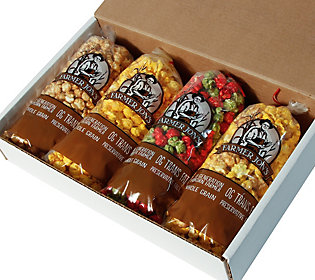 Farmer Jon's 4-Pack Holiday Popcorn Gift Box