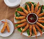 Anderson Seafoods (2) 2.5 lb. Boxes Coconut Breaded Shrimp - M117238