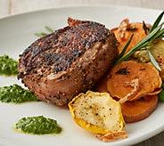 Rastelli Market Fresh (8) 5-oz Bacon Wrapped Sirloin Steaks - M58239