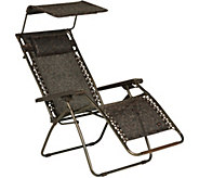 Bliss Hammocks Premium Gravity-Free Reclining Chair with Canopy - M55740