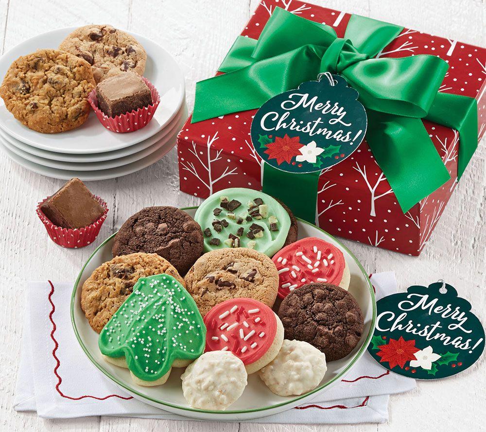 Christmas Sweets.Ships 12 2 Cheryl S Merry Christmas Treats Box Qvc Com