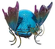Plow & Hearth 3D Solar Illuminated Globe Animal - M56545